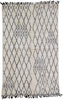 Karma Living Diamond Rug - 4ft x 6ft - Natural