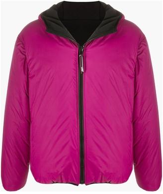 MSGM Reversible Hooded Jacket