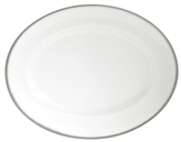 Wedgwood Dinnerware, Silver Aster Oval Platter