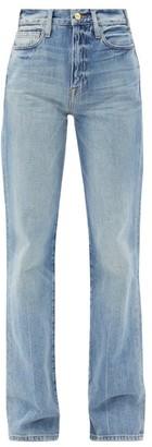 Frame Le Jane Glacier Straight-leg Jeans - Womens - Light Denim