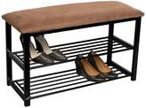 Sorbus Shoe Rack Bench