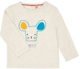 John Lewis Artroom Mouse Print Top, Cream