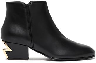 Giuseppe Zanotti G-heel Leather Ankle Boots