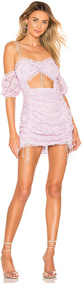 For Love & Lemons Amalie Mini Dress
