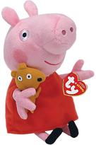 Peppa Pig Ty Beanie Baby, 15cm