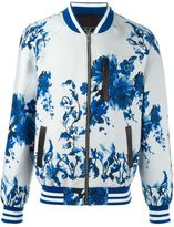 Unconditional floral print bomber jacket