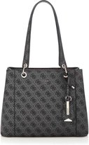 GUESS Kamryn Basique Shopper Shoulder Bag, Coal