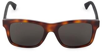 Gucci 53MM Core Square Sunglasses