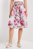 Soprano Floral Midi Skirt