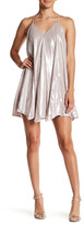 Sequin Hearts Metallic Mini Dress (Juniors)