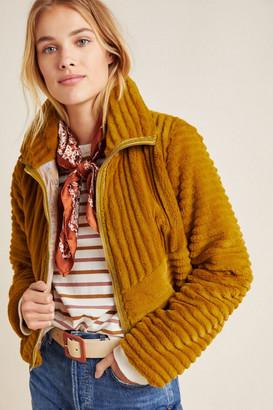 Anthropologie Natasha Faux-Fur Jacket