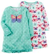 Carter's Girls 4-14 2-pk. Butterfly Nightgowns