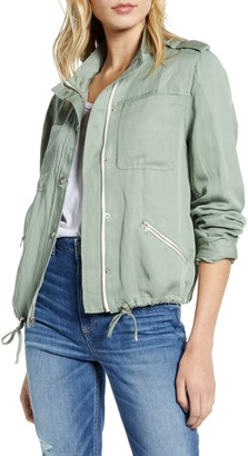 Paige Ryland Twill Zip Jacket