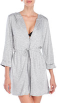 Dotti Zip-Front Hooded Cover-Up
