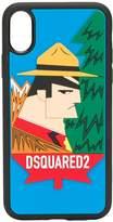 Dsquared2 iPhone XS logo print phone case
