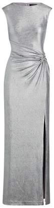 Ralph Lauren Metallic Sleeveless Gown