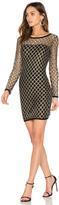 Nightcap Clothing Pyrite Mini Dress