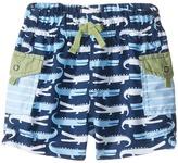 Mud Pie Gator Swim Trunks Boy's Swimwear