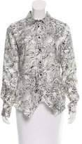 Maiyet Silk Printed Top