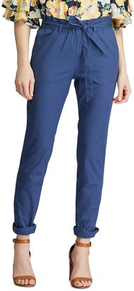 Chaps Women's Pull-On Paperbag Ankle Pants