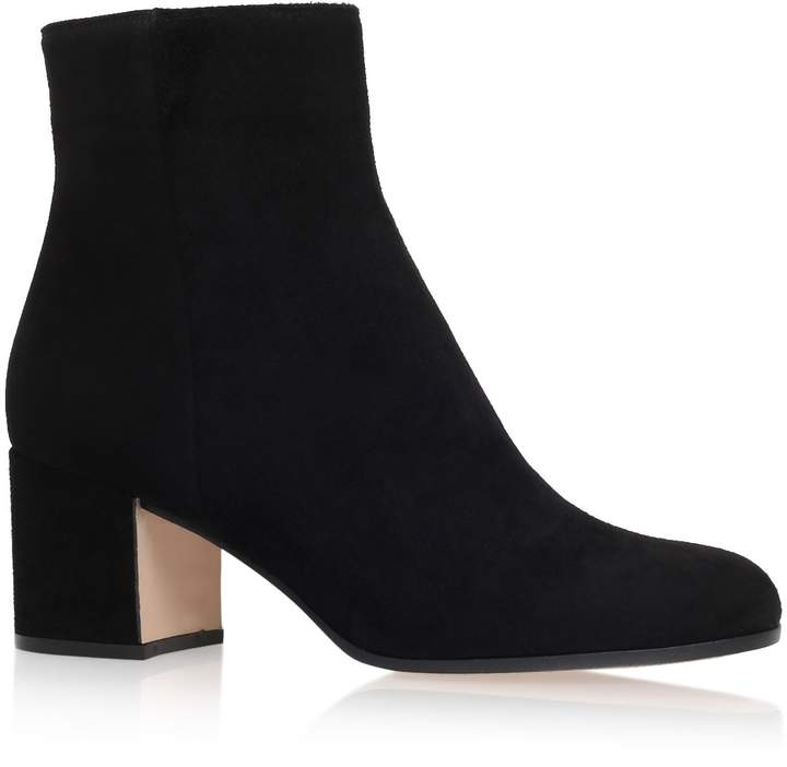 Gianvito Rossi Suede Margaux Boots 60