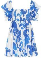 Caroline Constas Hanna floral poplin minidress