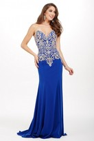 Jovani Gloriously Beaded Full-Length Evening Gown JVN33690