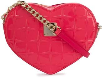 MCM Patricia heart crossbody bag