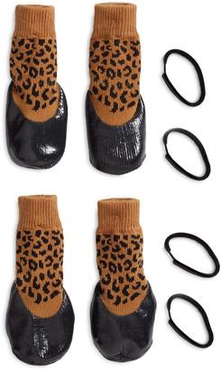 LoveThyBeast Rubber Dipped Dog Socks