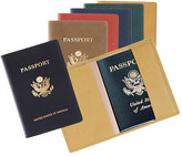 Royce Leather Passport Jacket with Gold Seal 202-11