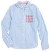 Vineyard Vines Stripe Oxford Shirt (Toddler Girls & Little Girls)
