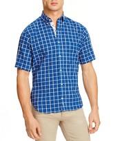 Tailorbyrd Seersucker Windowpane Check Classic Fit Button Down Shirt