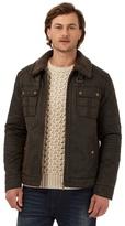 Mantaray Big And Tall Brown Waxed Jacket
