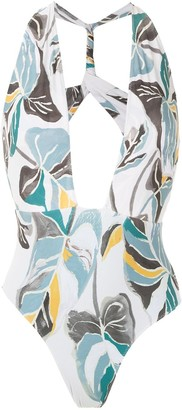 Clube Bossa Else printed swimsuit