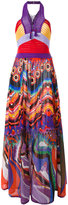 Roberto Cavalli Dreamscape dress - women - Cotton - 38