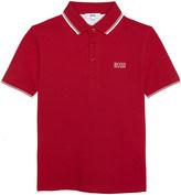 HUGO BOSS Classic cotton polo 4-16 years