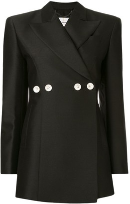 AKIRA NAKA button embellished blazer