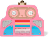 Charlotte Olympia Cobot Embellished Perspex Clutch - Pink