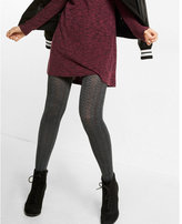 Express Ribbed Knit Full Tights