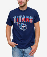 Junk Food Clothing Men's Tennessee Titans Split Arch T-Shirt