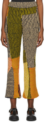 Eckhaus Latta Multicolor Wool Jerome Lounge Pants