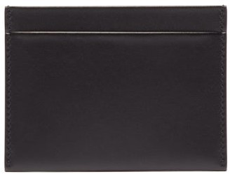 The Row Leather Card Holder - Mens - Black