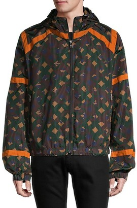 MCM Printed Hooded Jacket