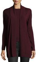 Ralph Lauren Shawl-Collar Merino Wool Sweater, Burgundy