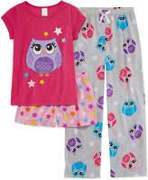 Asstd National Brand 3-pc. Pant Pajama Set Girls