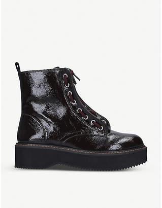 DKNY Rhi leather biker boots