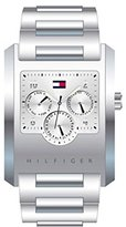 Tommy Hilfiger White Dial Stainles Steel Multi Quartz Men's Watch1790284