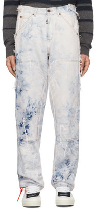 Off-White Off White  Reconstructed Carpenter Jeans