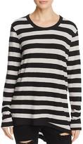 Wilt Slouchy Striped Long Sleeve Tee