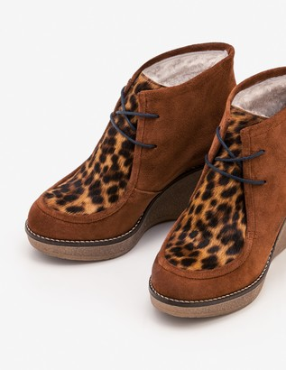 Brundall Wedge Boots